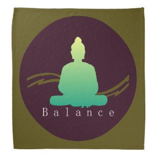 """""""Balance"""" Beautiful Buddha. Bandana"""