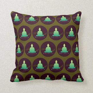 """""""Balance"""" Beautiful Buddha cushion. Cushion"""