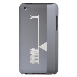 Balance between one woman and many men iPod Case-Mate cases