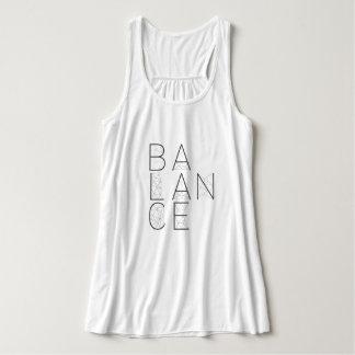 Balance Geometric Typography | Tank Top