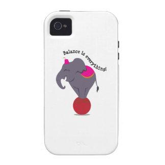 Balance Is Everything! Vibe iPhone 4 Case