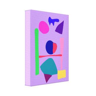 Balance Lavender Canvas Print