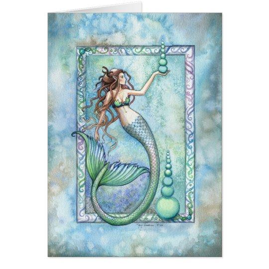 Balance Meramaid Greeting Card