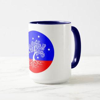 Balance: the past, present, & future mug