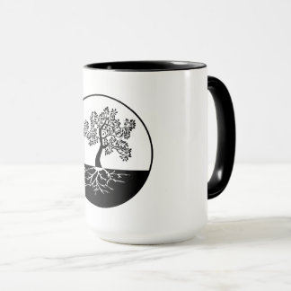 Balance: the past, present, & future mug