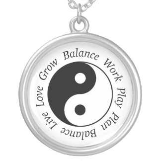 Balance Yin Yang Necklace