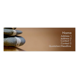 Balanced Pebbles Business Cards