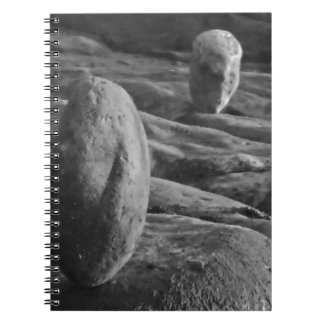 Balanced Pebbles Spiral Notebook