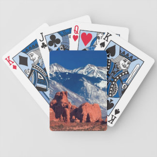 Balanced Rock Trail Bicycle Playing Cards