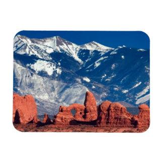 Balanced Rock Trail Rectangular Photo Magnet