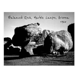 Balanced Rock, USA Marble Canyon Arizona 1965 Postcard