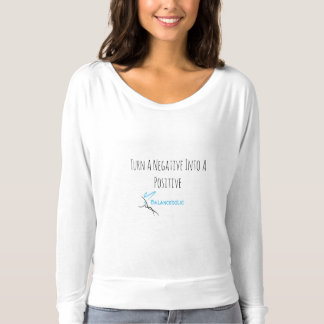Balanceholic Negative To Positive Flowy Shirt