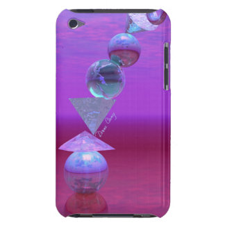 Balancing - Fuchsia and Violet Equilibrium iPod Touch Cover
