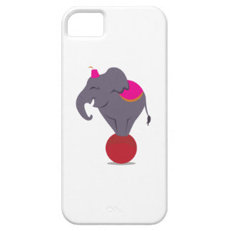 Balancing on Ball iPhone 5 Cover
