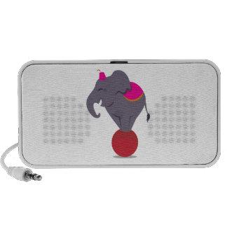 Balancing on Ball Travel Speaker