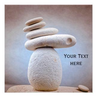Balancing Stones Square + your ideas 13 Cm X 13 Cm Square Invitation Card