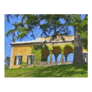 Balbianello Balaustre in Como, Postcard