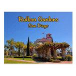 Balboa Garden Activity Centre San Diego California Postcard