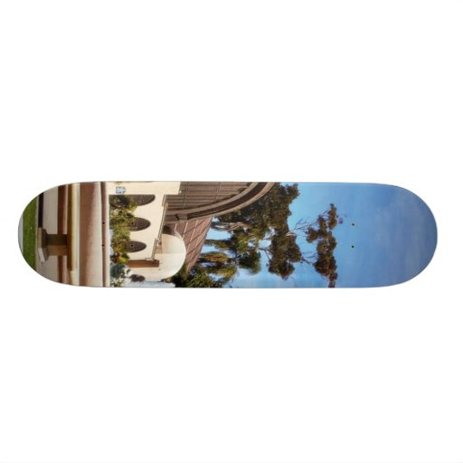 Balboa Park Arboreum In San Diego Skate Board Deck