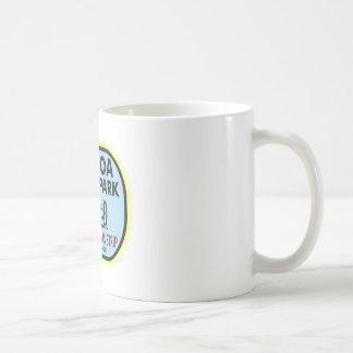 Balboa Park Drag Strip Basic White Mug