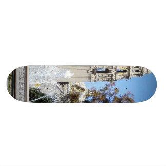 Balboa Park Towers Trees Fountains Sky Skate Board