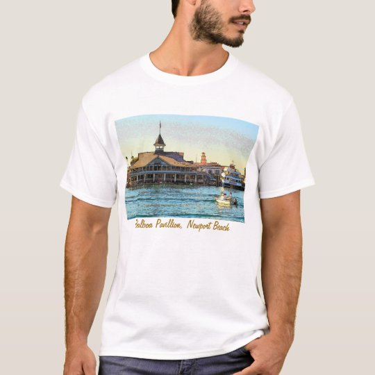 Balboa Pavillion, Newport Beach T-Shirt