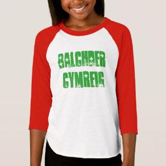 balchder Cymreig, Welsh pride in Welsh T-Shirt