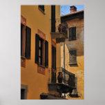 Balconies and Doors Poster