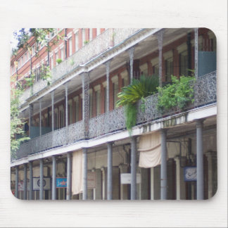Balconies in the French Quarter Mouse Pad