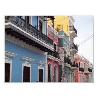 Balconies, Old San Juan, Puerto Rico Photo