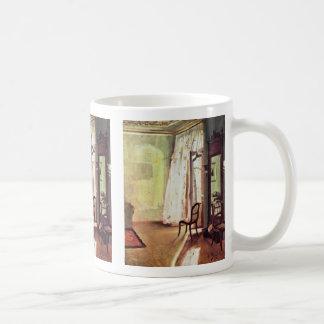 Balcony Room By Menzel Adolph Von Coffee Mug