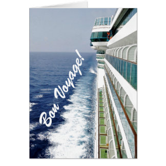 Balcony Row Bon Voyage Card
