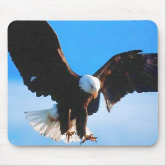 Bald American Eagle Mouse Mat