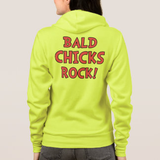 Bald Chicks Rock - Cancer Awareness Hoodie