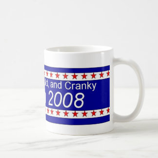 Bald Cranky McCain for President 2008 Mug
