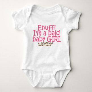 bald doesn't = male baby bodysuit