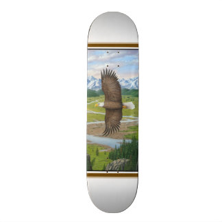 Bald Eagle 20 Cm Skateboard Deck