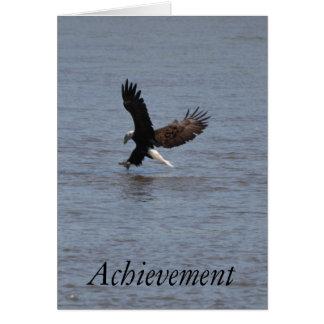 Bald Eagle ~ Achievement Greeting Card