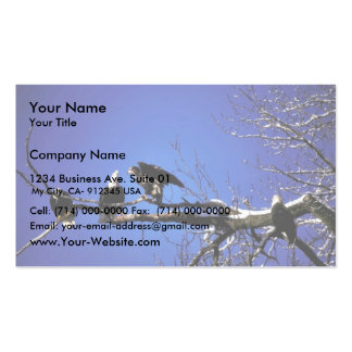 Bald Eagle Adults and Fledgling Pack Of Standard Business Cards
