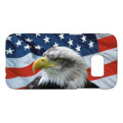 Bald Eagle American Flag