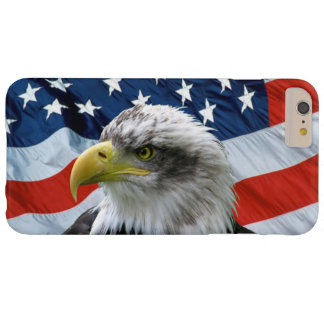 Bald Eagle American Flag Barely There iPhone 6 Plus Case