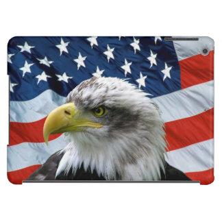 Bald Eagle American Flag iPad Air Case