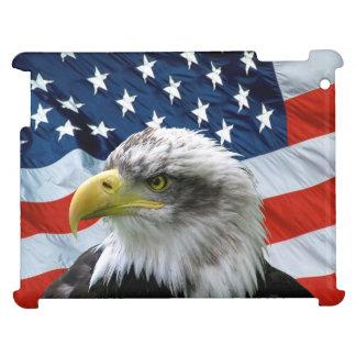 Bald Eagle American Flag iPad Case