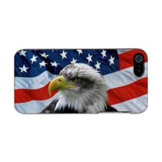 Bald Eagle American Flag iPhone 5 Case Incipio Feather® Shine iPhone 5 Case