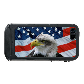 Bald Eagle American Flag iPhone 5 Case Incipio ATLAS ID™ iPhone 5 Case