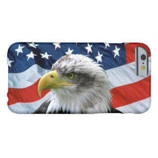 Bald Eagle American Flag iPhone 6 Case Barely There iPhone 6 Case