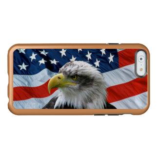 Bald Eagle American Flag Incipio Feather® Shine iPhone 6 Case