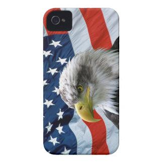 Bald Eagle American Flag iPhone Case