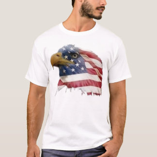 Bald eagle american flag T-Shirt