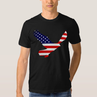 Bald Eagle American Flag T-shirts